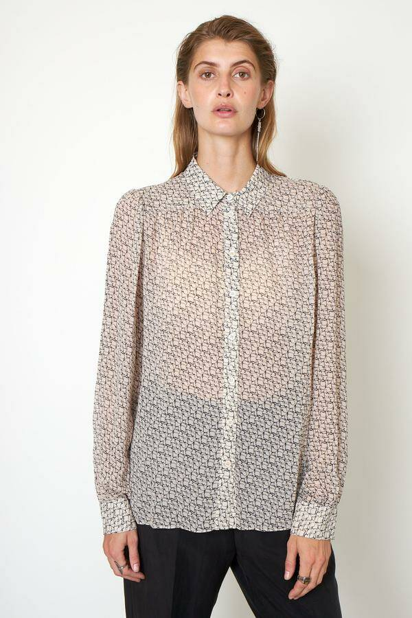 Second Female | Lacing Shirt | Grafische print