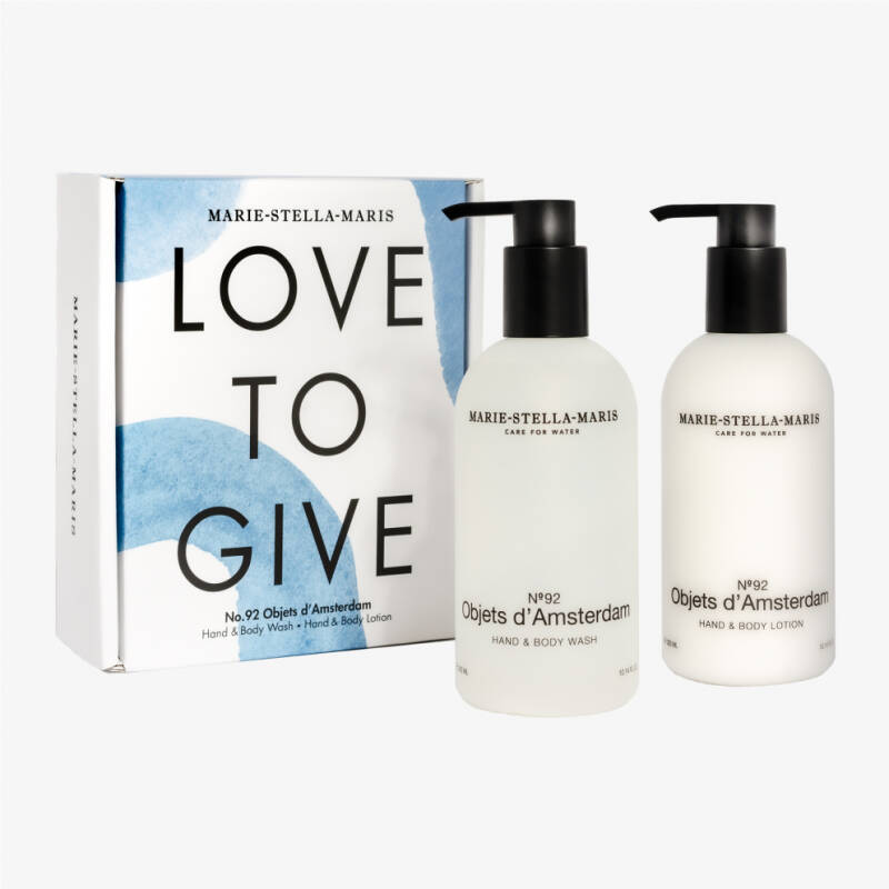 MARIE-STELLA-MARIS | LOVE TO GIVE | Gift Set 2x 300ML | No.92 Objets d'Amsterdam