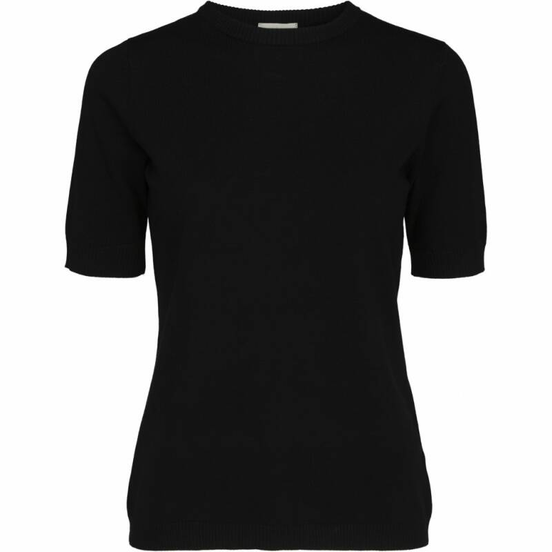 SALE | Minus | Pamela knit T-shirt | Black