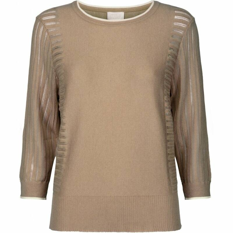 SALE   Minus   Ria knit pullover   Nomad sand