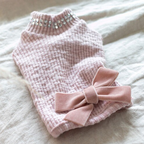 PD Pink Bow Sweater