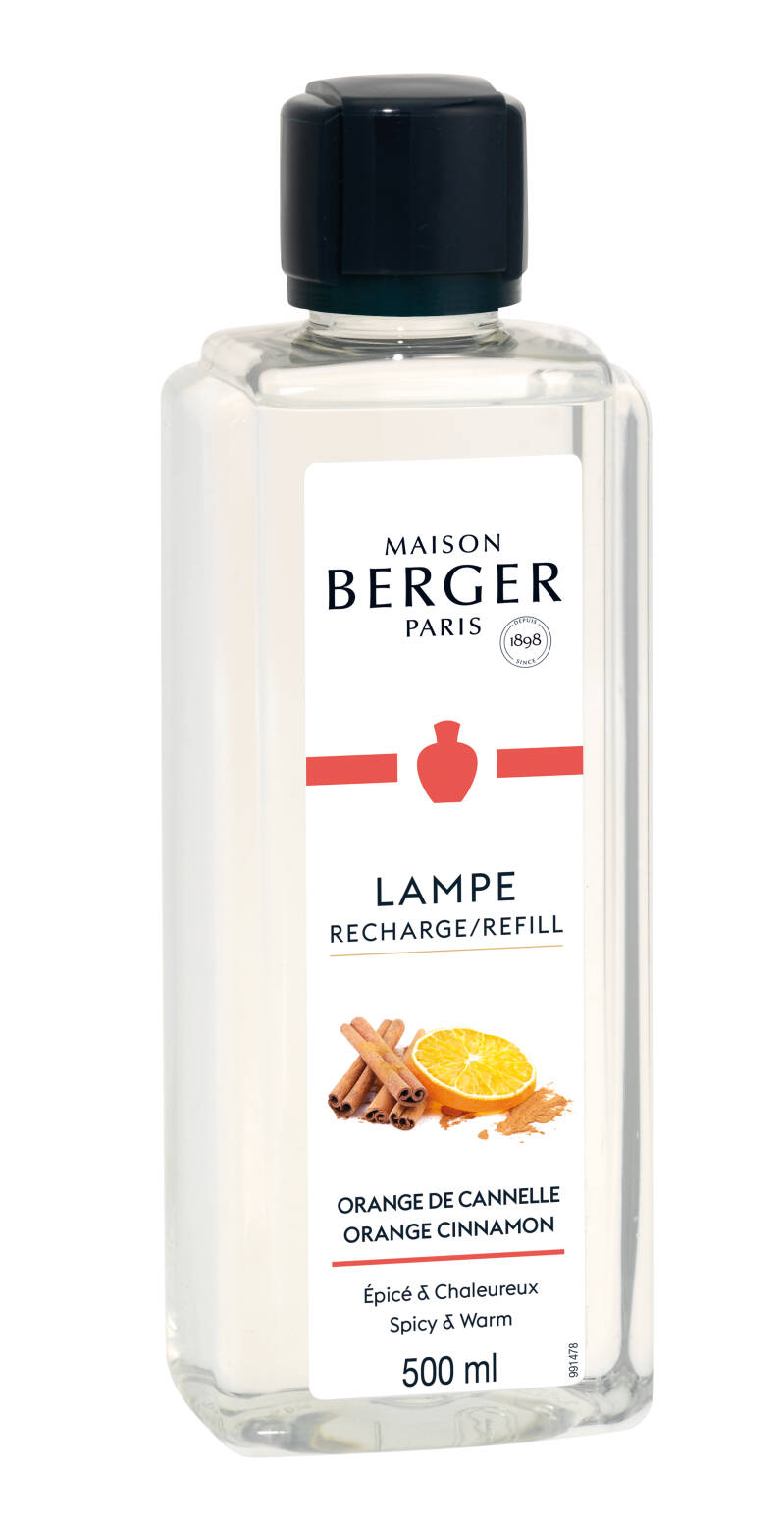 Lampe Berger Zoet Orange Cinnamon navullingen  voor geurbrander 500ml