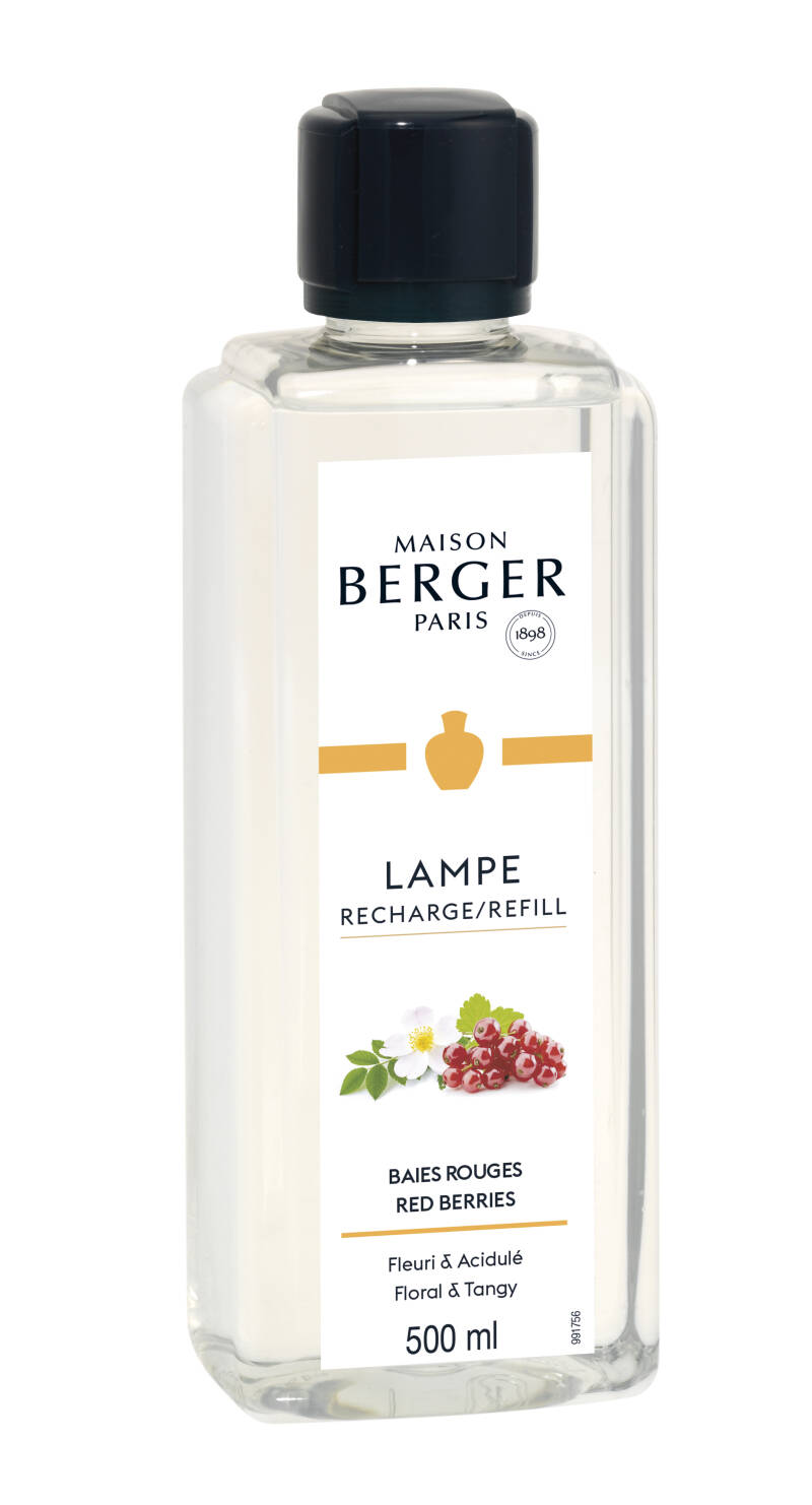 Lampe Berger Fruitig Red Berries  navullingen  voor geurbrander 500 ml