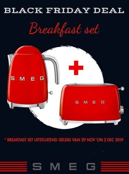 Smeg  Black Friday actie 2019