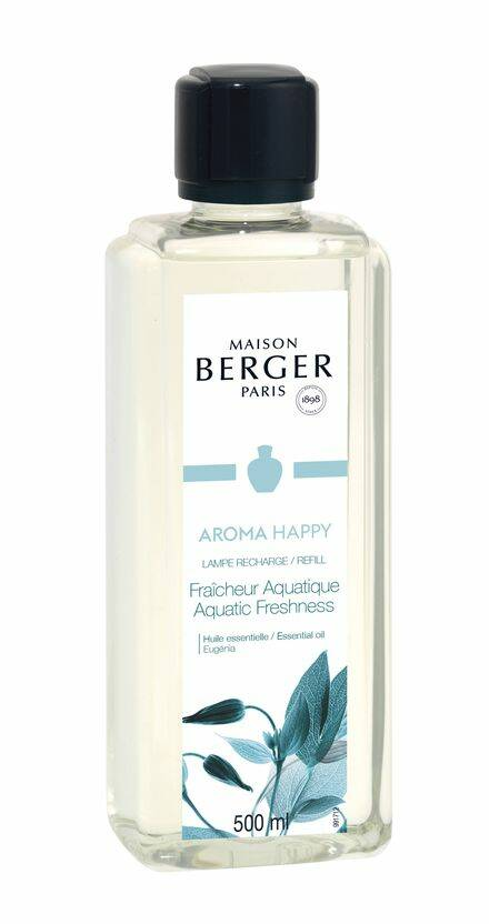 Lampe Berger navulling Aroma Happy (Aquatic Freshness) voor geurbrander 500 ml