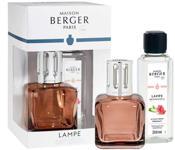 Lampe Berger Giftset Glacon Rose Ambre