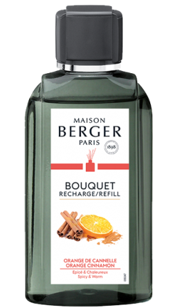 Lampe Berger Geurstokjes Navulling Orange Cinnamon 200ml