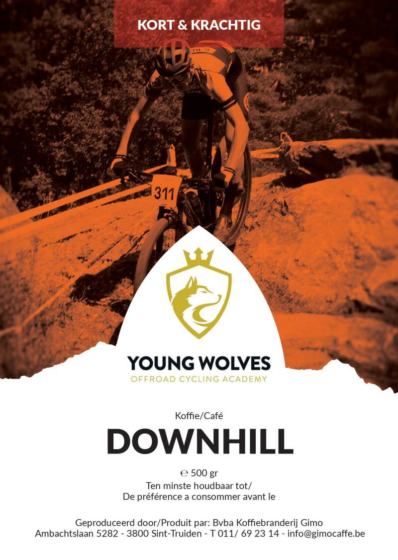 Young Wolves Koffie: Downhill