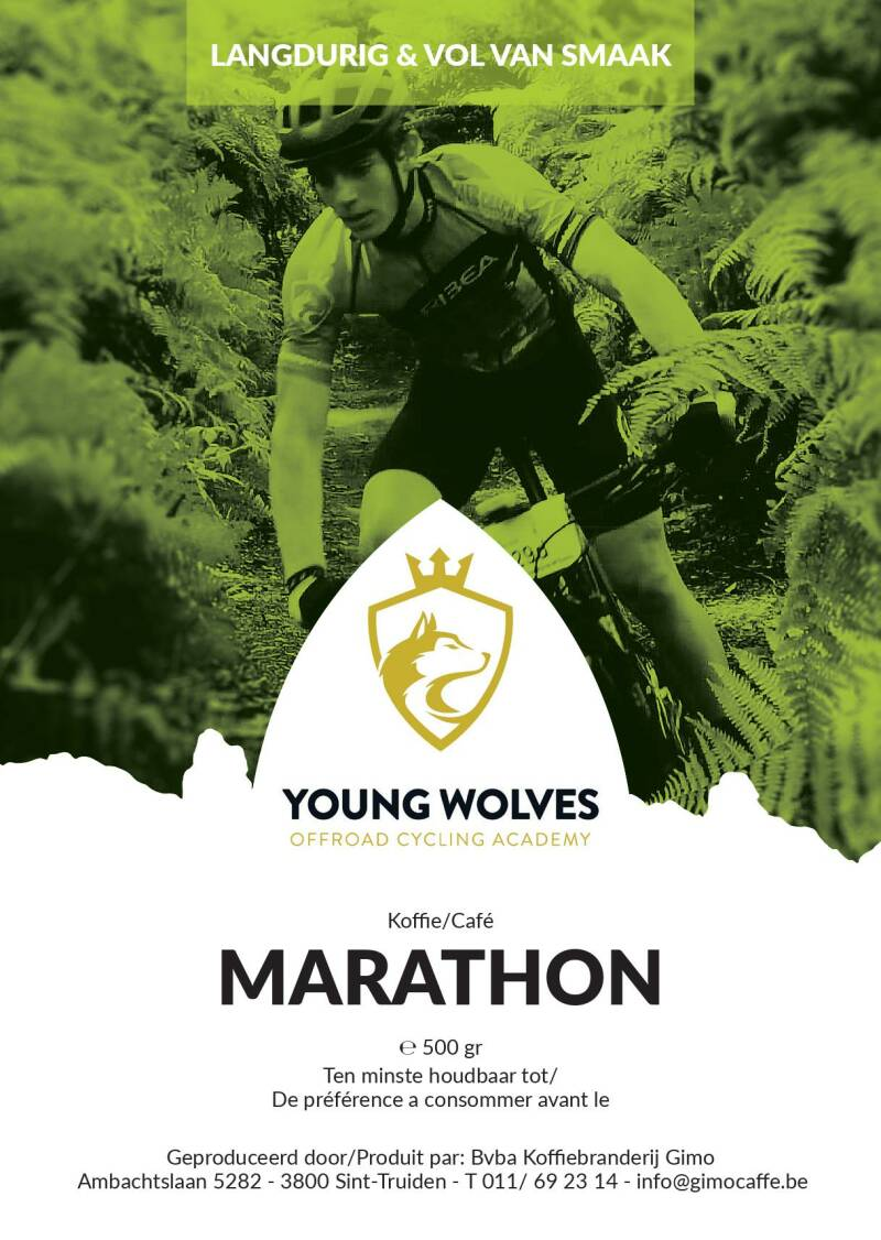 Young Wolves Koffie: Marathon
