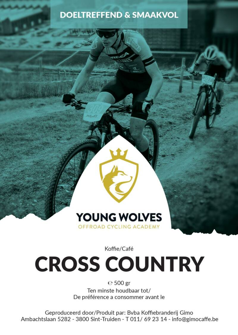 Young Wolves Koffie: Cross country