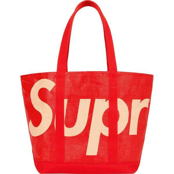 Supreme Tote Bag Red
