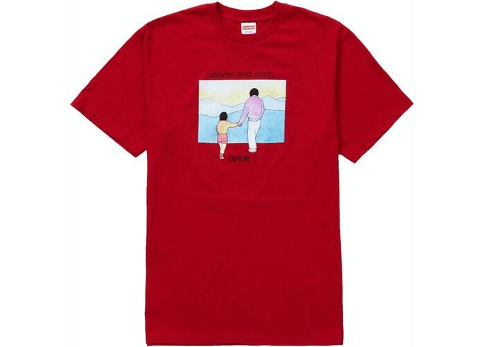Supreme Heaven Tee Red