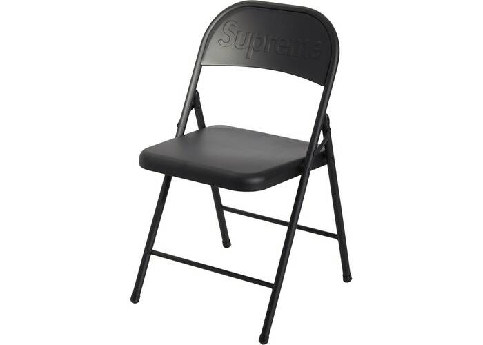 Supreme Folding Chair Black
