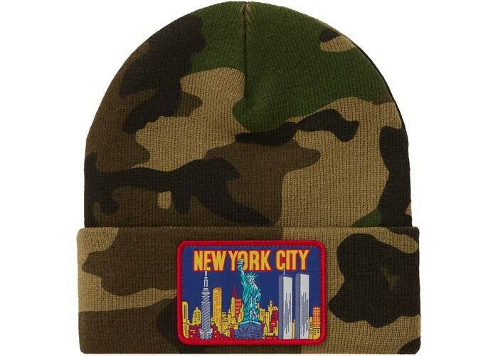 Supreme New York Camo Beanie