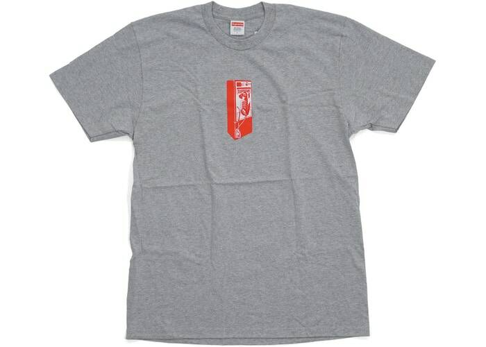 Supreme Phone Tee Grey