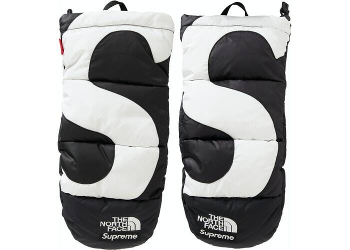 Supreme The North Face Mitts Black