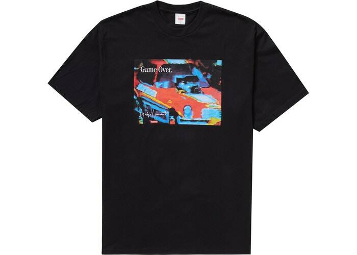Supreme Game Tee Black
