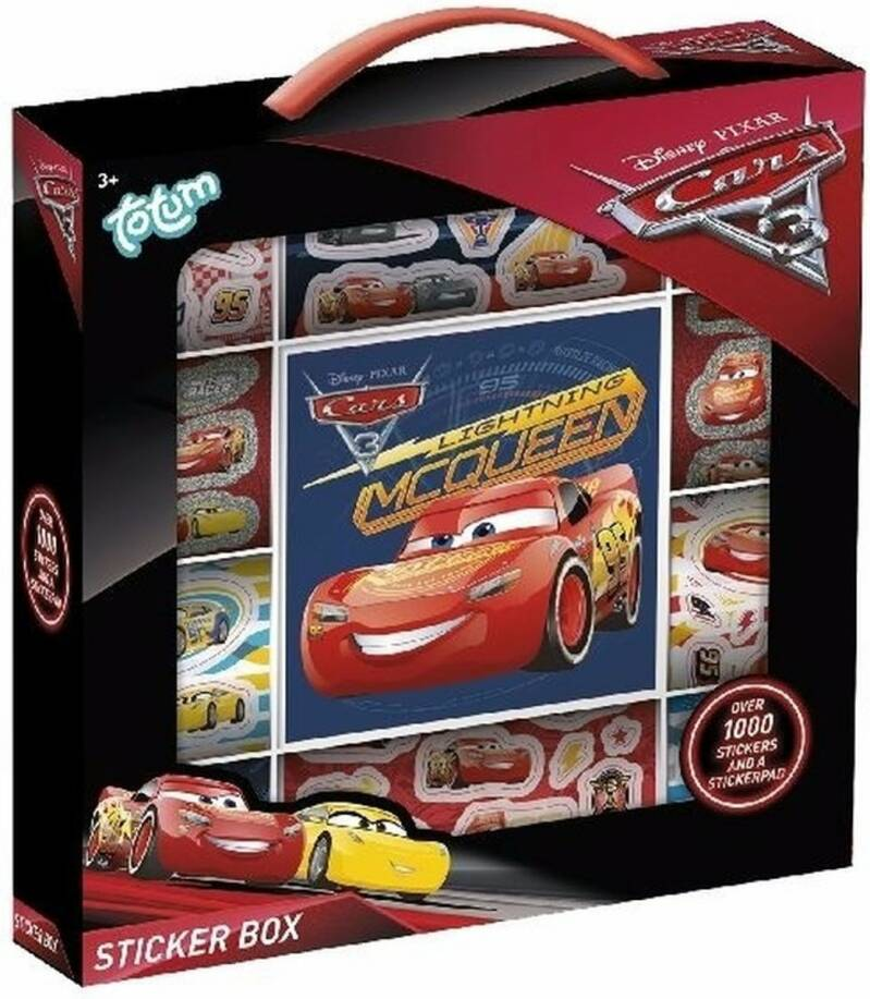 Cars stickerbox