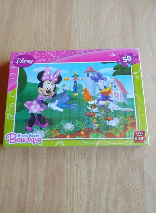 legpuzzel Disney Minnie Mouse Bow-Tique