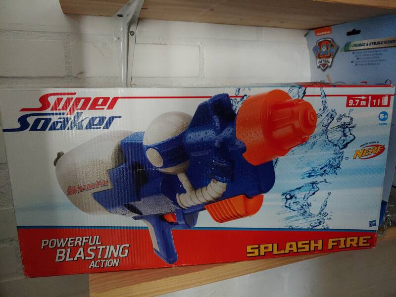 Super Soaker Splash Fire