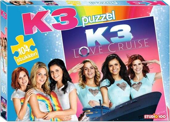 K3 : puzzel  - Love Cruise