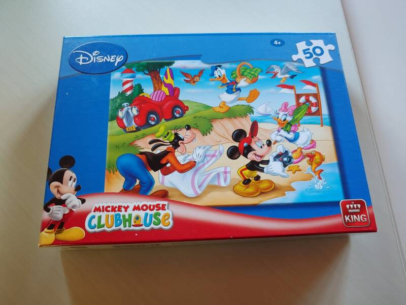 Puzzel Mickey Mouse Clubhouse .