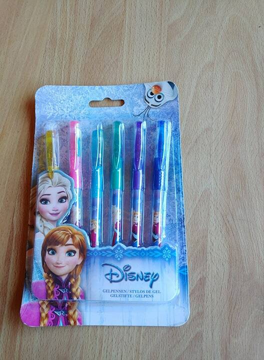 Disney Frozen gel pennen 6 st.