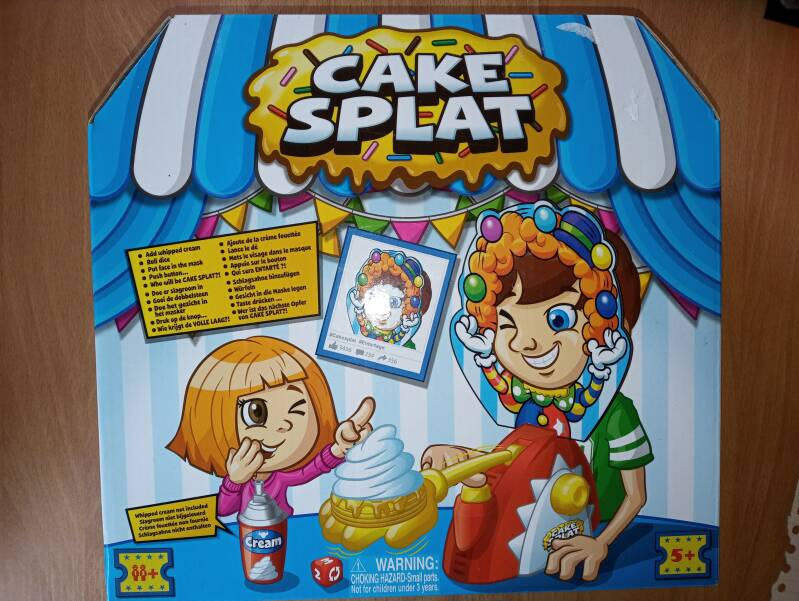 Cake Splat - Kinderspel