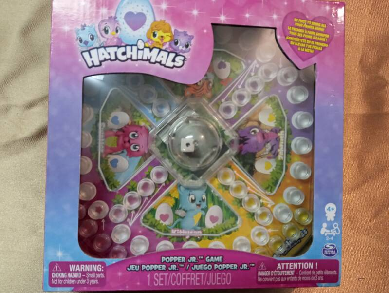 Hatchimals popper jr. game