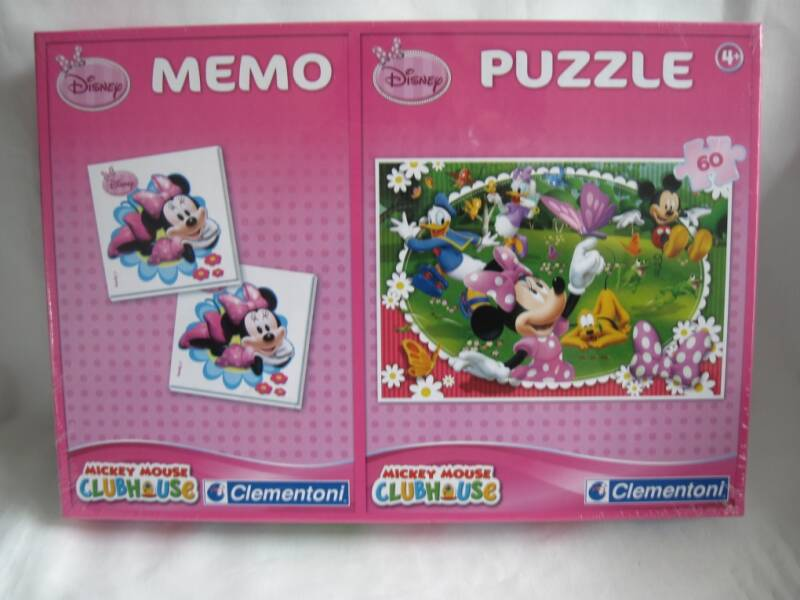 Disney Minnie Mouse memory en puzzel