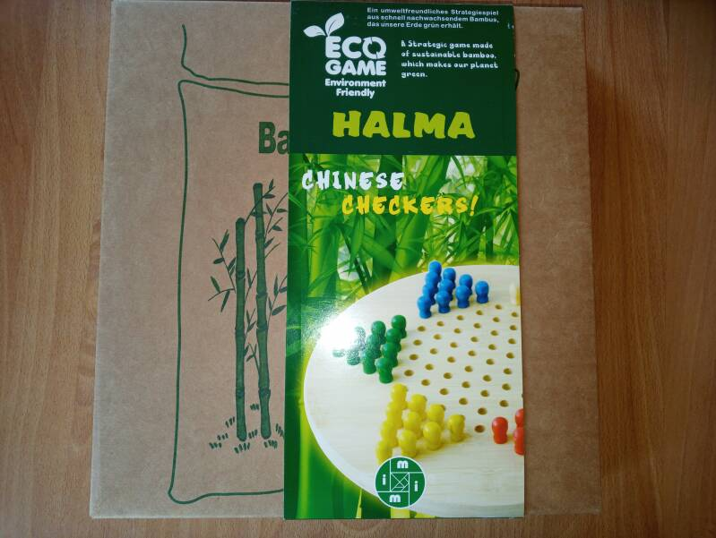 Halma Chinese Checkers van hout