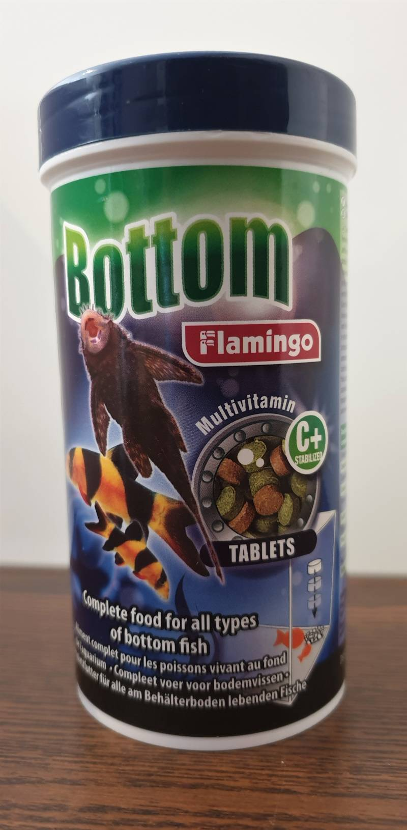 TABLETS BOTTOM VOER 250ML