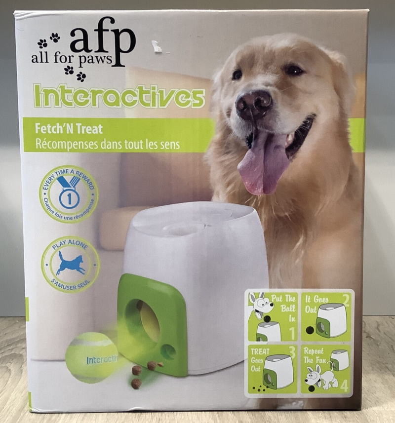 AFP INTERACTIVE FETCH 'N TREAT
