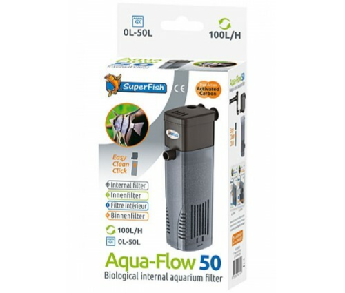 Superfish Aqua-Flow 50 binnenfilter