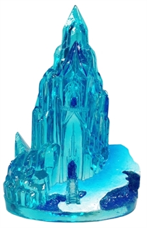 Disney Frozen Mini ijskasteel Aquarium Ornement