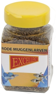 EXCELLENT RODE MUGGENLARVEN 100ML