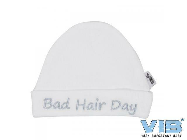 Muts Rond Bad hair day Wit