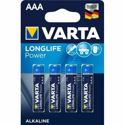 Varta High Energy AAA Batterijen - 4 Stuks