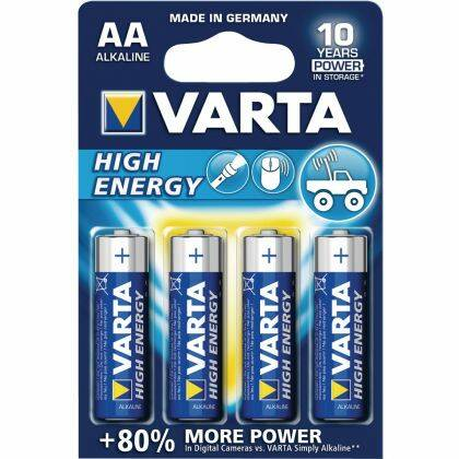 Varta AA Longlife Power batterijen - 4 stuks