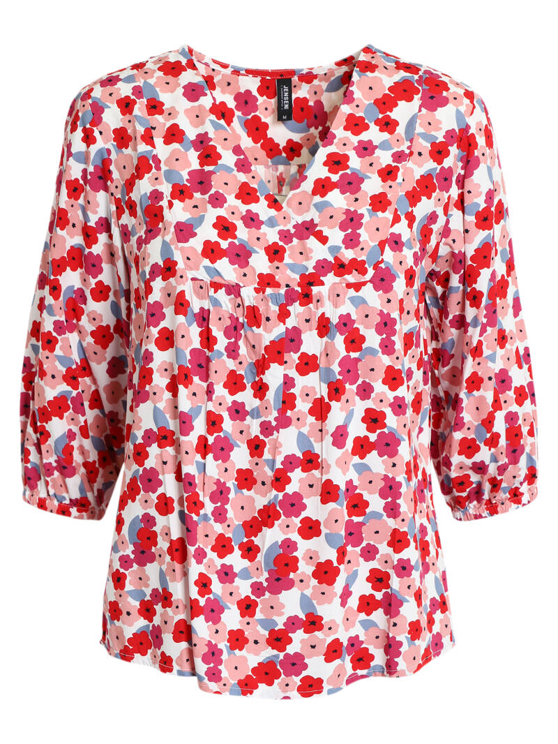 Blouse True Red Mix