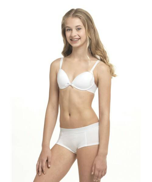 Boobs and Bloomers short white