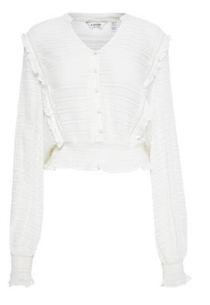 Bybcfelicia blouse off white