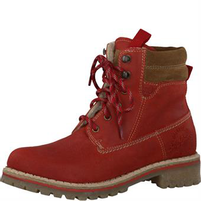 S´oliver Dames Boots red