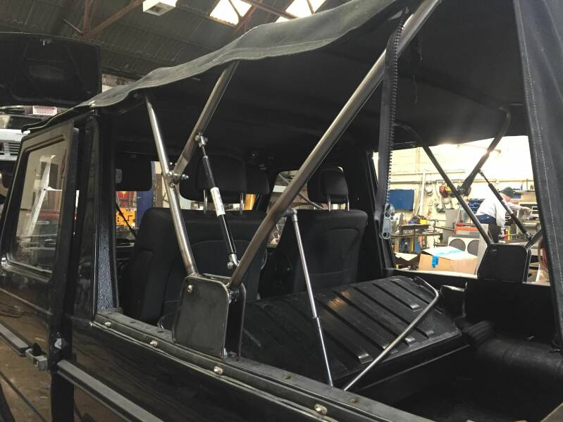 Soft Top Frame Replica (W460 W461 W463) [PRO000130]