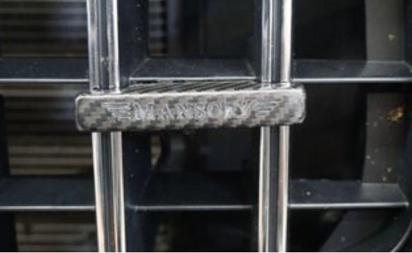 Mansory Logo For Front Grill  G Class (W463a) [PRO000393]