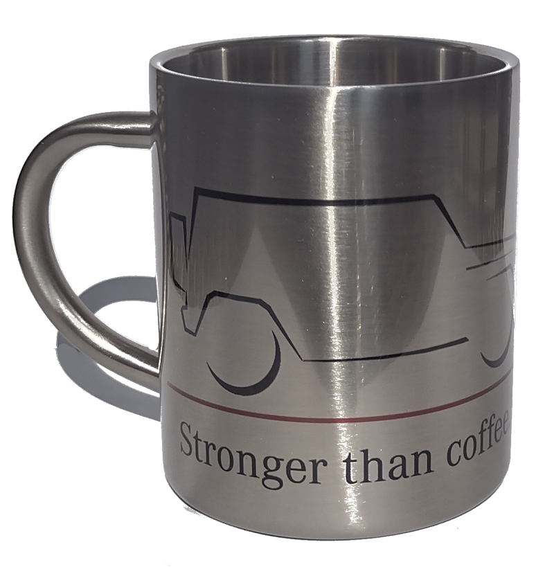 """Cup """"Stronger than coffee"""" [PRO000792]"""