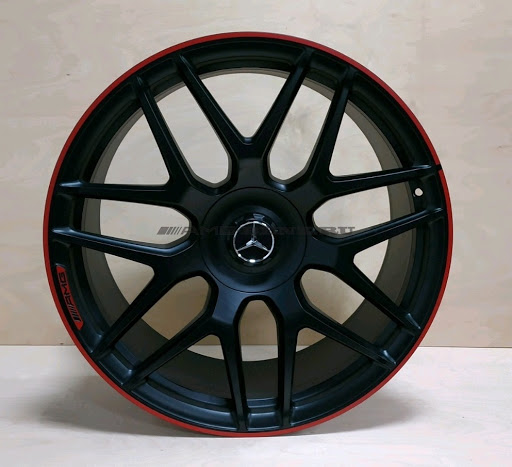 "AMG 22"" Black set of 4 rims (W460 W461 W463) [PRO000102]"