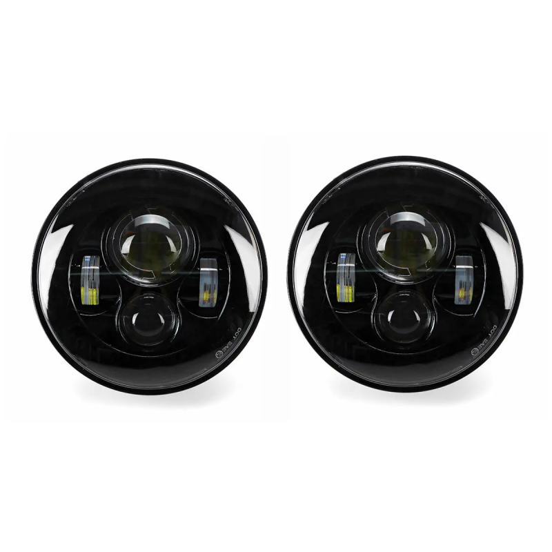 "2 x 7"" Round LED Projection Headlights Head Lamp Hight/Low Beam (W460 W461 W463 (Old) ) - [PRO000026]"