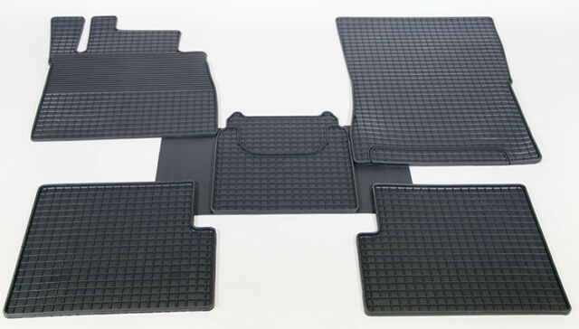 Rubber Mats Mercedes complete Set
