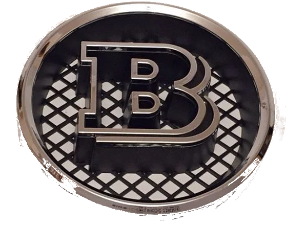 Brabus Look Double B Front Grille Insert Badge (W460 W461 W463) [PRO000221]